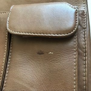 Wilsons Leather Bags - Wilsons Leather Brief Bag Carmel Double Straps
